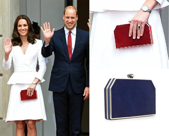 Suốt cả tháng 7, công nương Kate chỉ chuộng diện lại túi cũ từ năm ngoái - Ảnh 4.