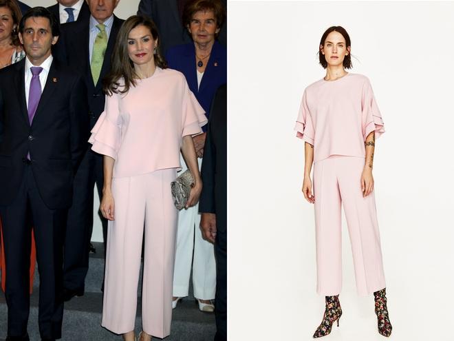 Giống công nương Kate, Nữ hoàng Tây Ban Nha chỉ chuộng những hãng đồ bình dân và chẳng ngại mặc đi mặc lại một mẫu - Ảnh 4.