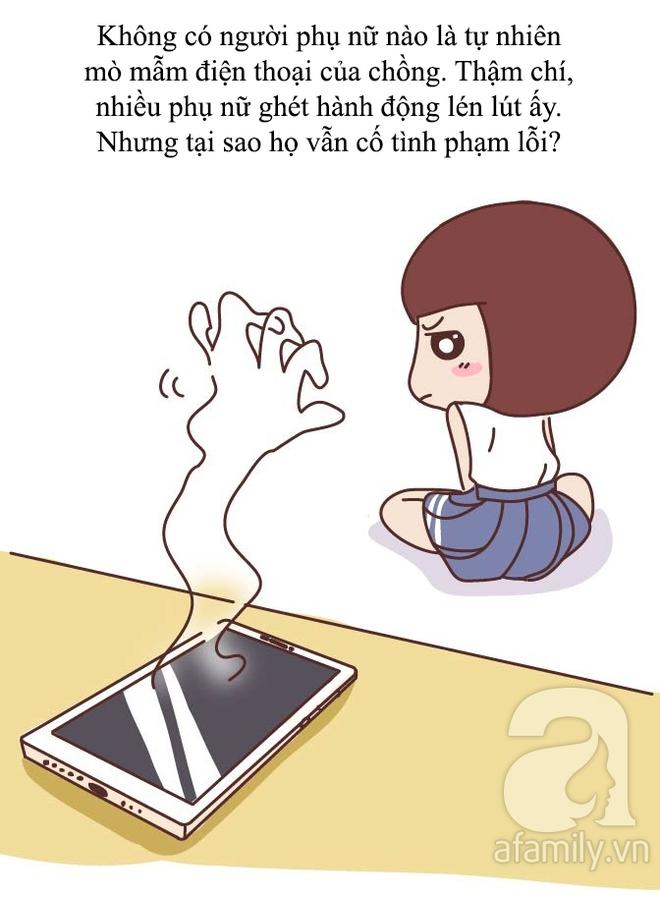 Truyện tranh: Không phải tự nhiên phụ nữ lại mò mẫm điện thoại của chồng hoặc người yêu! - ảnh 4