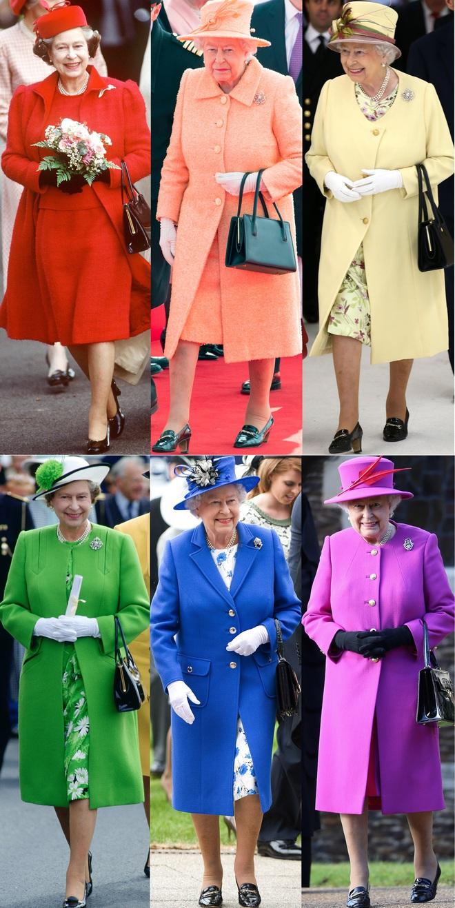 Những quy tắc hoàng gia nghiêm ngặt đằng sau trang phục chóe lọe của Nữ hoàng Anh - Ảnh 4.
