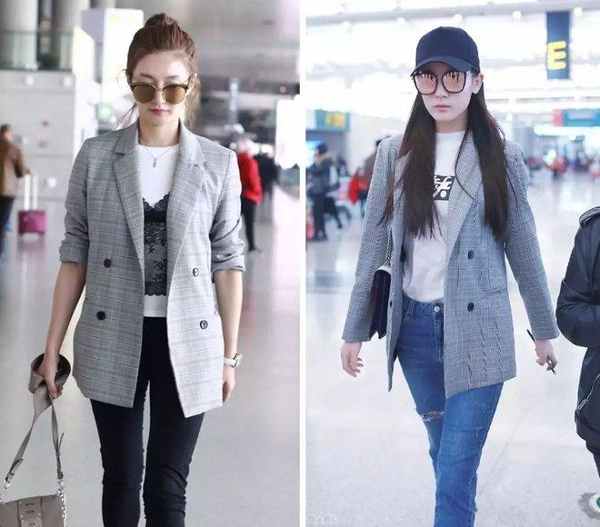 Cứ sang thu là 5 mẫu áo khoác quen thuộc này lại được loạt người đẹp Hoa ngữ lăng xê nhiệt tình - Ảnh 4.