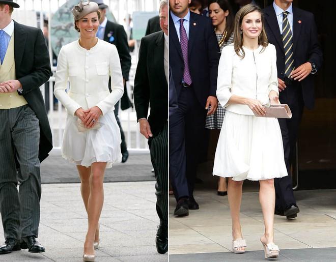 Mặc đẹp là thế, nhưng Công nương Kate cũng từng có vô số màn đụng độ khó phân cao thấp với 1 vị Hoàng hậu - Ảnh 5.