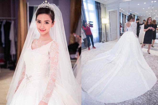 Cùng với Song Hye Kyo, nhiều người đẹp cũng từng diện thiết kế váy cưới Dior trong ngày trọng đại - Ảnh 6.