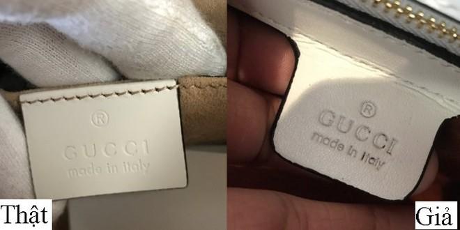 Trọn bộ bí kíp phân biệt túi Gucci thật – giả cho các tín đồ hàng hiệu - Ảnh 5.