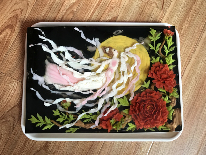 Ngưỡng mộ phù thủy vẽ tranh 3D trên thạch rau câu, đẹp ngây ngất đến mức chẳng ai nỡ ăn - Ảnh 34.