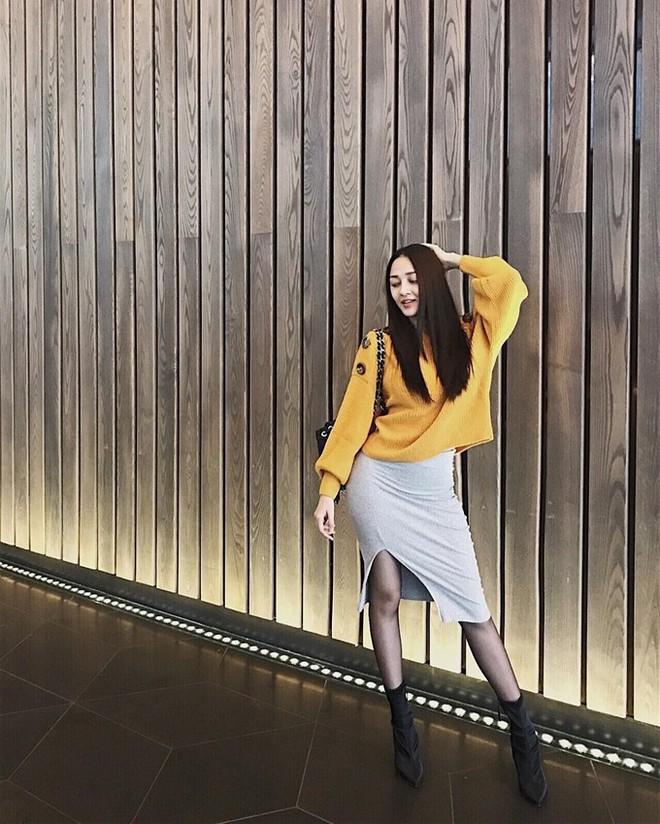 Đông này muốn diện áo len thật thời thượng, hãy học tập từ street style của các người đẹp Vbiz - Ảnh 19.