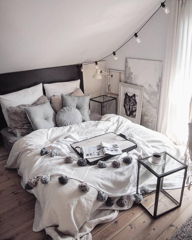Những mẫu phòng ngủ mùa đông nhìn là thấy ấm - Ảnh 6.