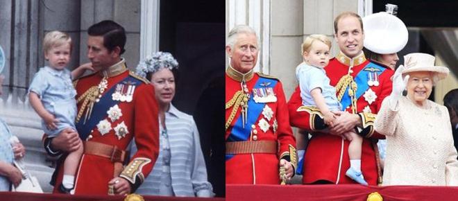 Hoàng tử và Công chúa nhà Kate thỉnh thoảng còn diện lại đồ của bố William hay chú Harry từng mặc 30 năm trước - Ảnh 4.