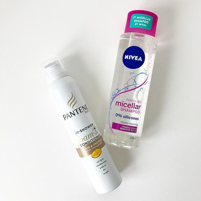 Gội đầu bằng micellar water: giải pháp mới dành cho những cô nàng có mái tóc yếu, tóc nhuộm - Ảnh 5.