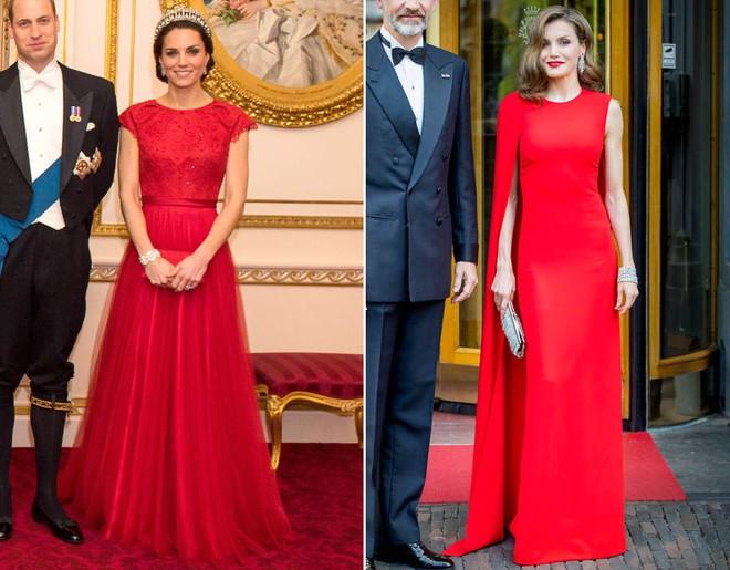 Mặc đẹp là thế, nhưng Công nương Kate cũng từng có vô số màn đụng độ khó phân cao thấp với 1 vị Hoàng hậu - Ảnh 3.