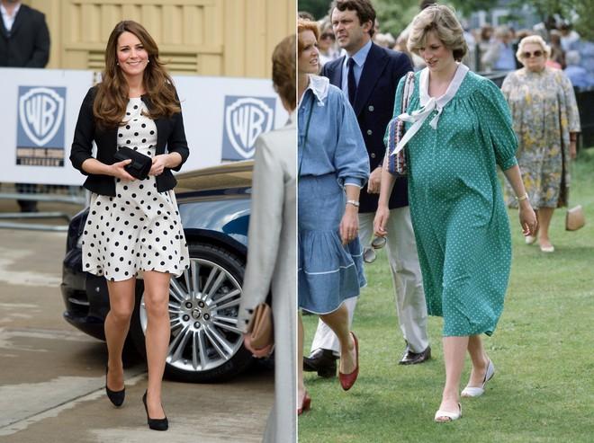 Cùng mang thai, nhưng công nương Kate và công nương Diana lại có cánh che bụng bầu hoàn toàn khác nhau - Ảnh 5.