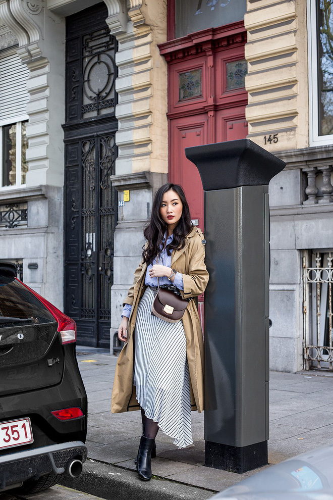 Các quý cô Châu Á đúng là chẳng ai kém ai về khoản kết hợp đồ mùa đông - Ảnh 6.
