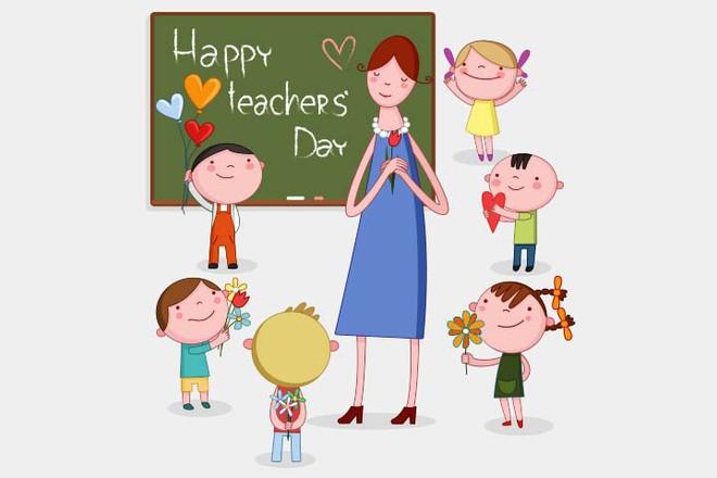 Mách mẹ 24 lời chúc siêu ý nghĩa giúp con ghi điểm với thầy cô nhân ngày nhà giáo Việt Nam 20/11 - Ảnh 4.
