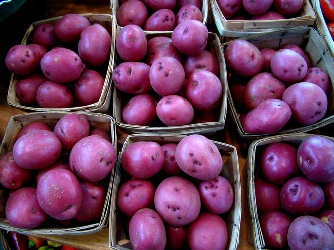 Những loại rau củ rực rỡ sắc màu khiến nhiều người không tin chúng có thật - Ảnh 3.
