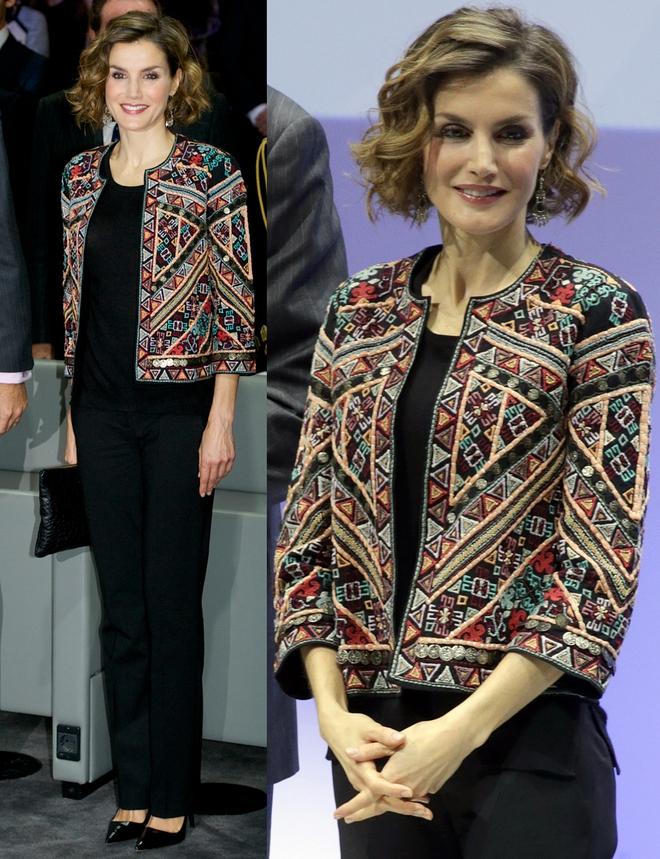 Giống công nương Kate, Nữ hoàng Tây Ban Nha chỉ chuộng những hãng đồ bình dân và chẳng ngại mặc đi mặc lại một mẫu - Ảnh 6.