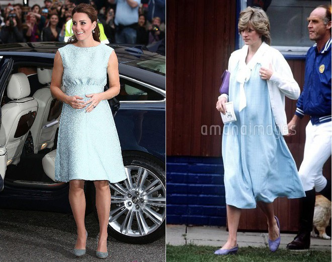 Cùng mang thai, nhưng công nương Kate và công nương Diana lại có cánh che bụng bầu hoàn toàn khác nhau - Ảnh 6.