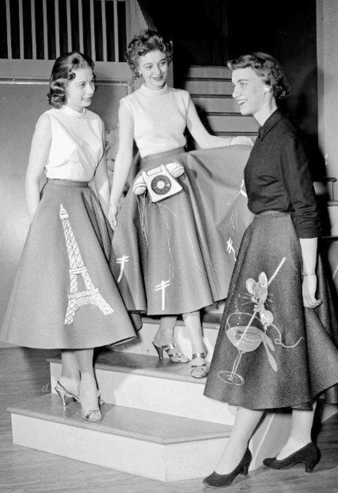 Ngược dòng về quá khứ xem sự thay đổi của chân váy qua từng thời kỳ - Ảnh 15.