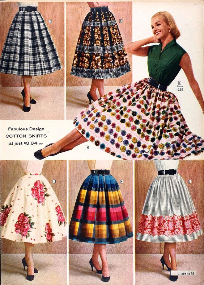 Ngược dòng về quá khứ xem sự thay đổi của chân váy qua từng thời kỳ - Ảnh 16.