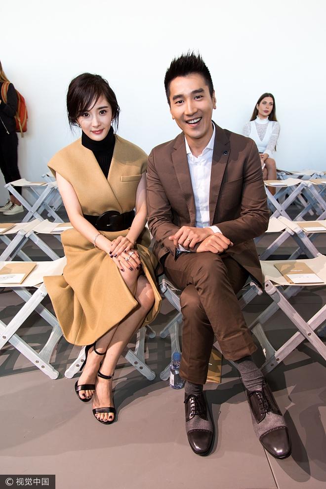 Vợ chồng Dương Mịch - Triệu Hựu Đình hội ngộ vui vẻ tại New York - Ảnh 3.