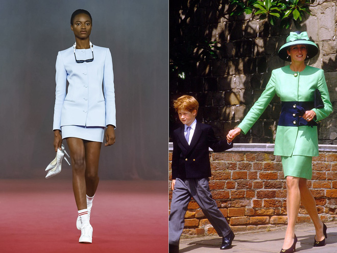 Công nương Diana trở thành nguồn cảm hứng trong BST mới của thương hiệu Off-White - Ảnh 8.