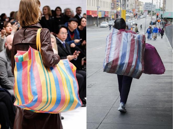 Tay xách làn đi chợ, cổ đeo vòng chìa khóa giờ mới là mốt sành điệu của giới thời trang  - Ảnh 8.