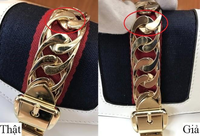 Trọn bộ bí kíp phân biệt túi Gucci thật – giả cho các tín đồ hàng hiệu - Ảnh 8.