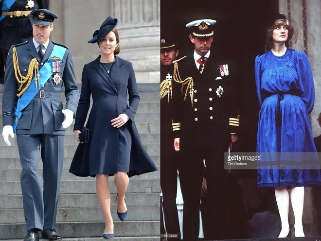 Cùng mang thai, nhưng công nương Kate và công nương Diana lại có cánh che bụng bầu hoàn toàn khác nhau - Ảnh 7.