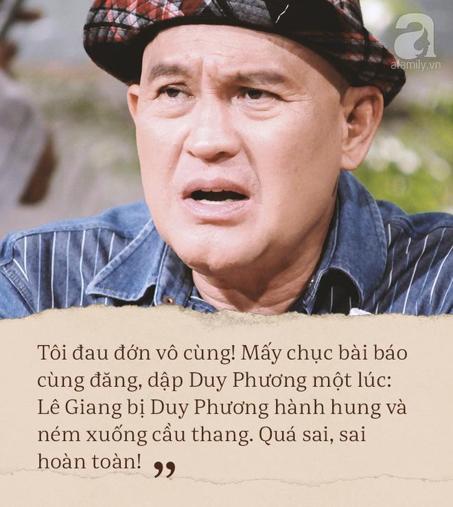 Bị Lê Giang tố đánh vợ đến mức vứt xuống cầu thang, Duy Phương lên tiếng: Họ đang giết tôi! - Ảnh 9.