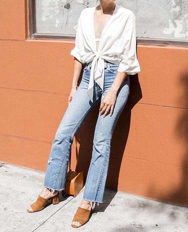 Từng kiểu quần jeans, diện cùng giày thế nào thì phải phép nhất - Ảnh 32.