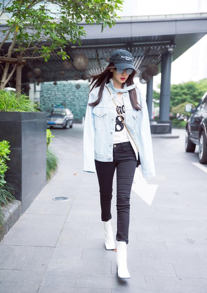 Cứ sang thu là 5 mẫu áo khoác quen thuộc này lại được loạt người đẹp Hoa ngữ lăng xê nhiệt tình - Ảnh 7.