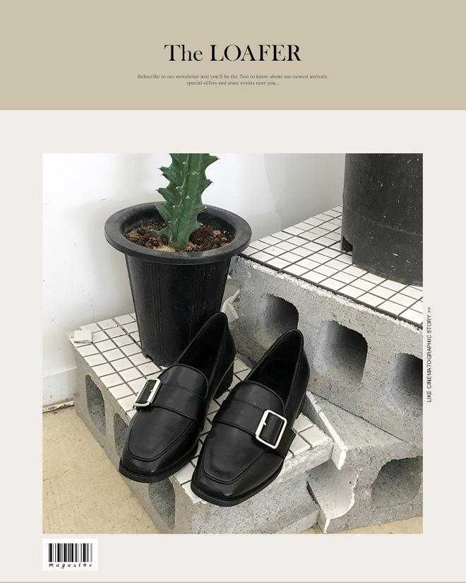Giày loafer mùa thu năm nào cũng hot, nhưng năm nay thiết kế được đổi mới vuông thành sát cạnh - Ảnh 1.