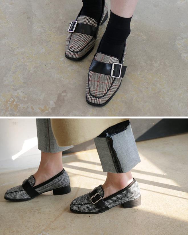 Giày loafer mùa thu năm nào cũng hot, nhưng năm nay thiết kế được đổi mới vuông thành sát cạnh - Ảnh 3.