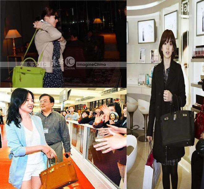 Diện đồ đơn giản, nhưng hoá ra Song Hye Kyo lại sở hữu BST túi Hermes tiền tỉ khiến nhiều người ghen tị  - Ảnh 7.