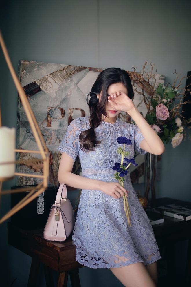 Bên cạnh váy hoa, thì vẫn còn 5 mẫu váy để các nàng diện vừa đẹp vừa mát hè này - Ảnh 8.