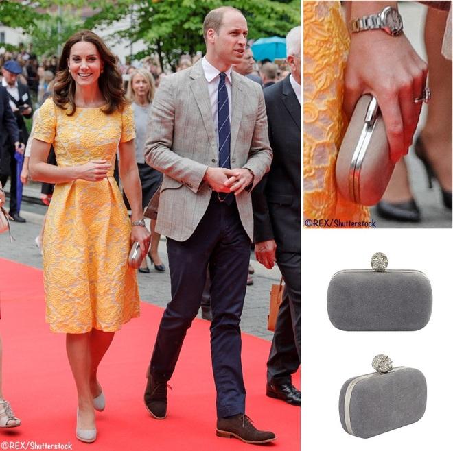 Suốt cả tháng 7, công nương Kate chỉ chuộng diện lại túi cũ từ năm ngoái - Ảnh 7.