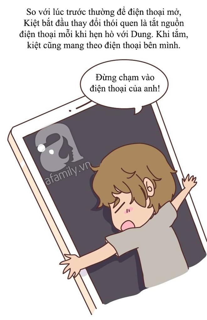 Truyện tranh: Không phải tự nhiên phụ nữ lại mò mẫm điện thoại của chồng hoặc người yêu! - ảnh 8
