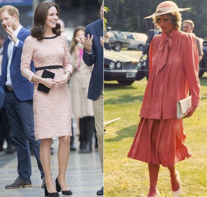 Cùng mang thai, nhưng công nương Kate và công nương Diana lại có cánh che bụng bầu hoàn toàn khác nhau - Ảnh 8.