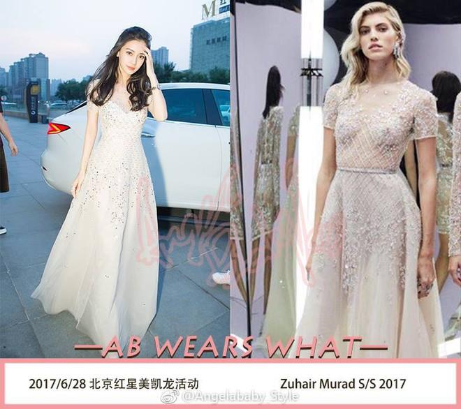 Dương Mịch, Phạm Băng Băng, Angela Baby… chính là những người đẹp rất hay chỉnh sửa váy áo hàng hiệu cho bớt sexy - Ảnh 8.