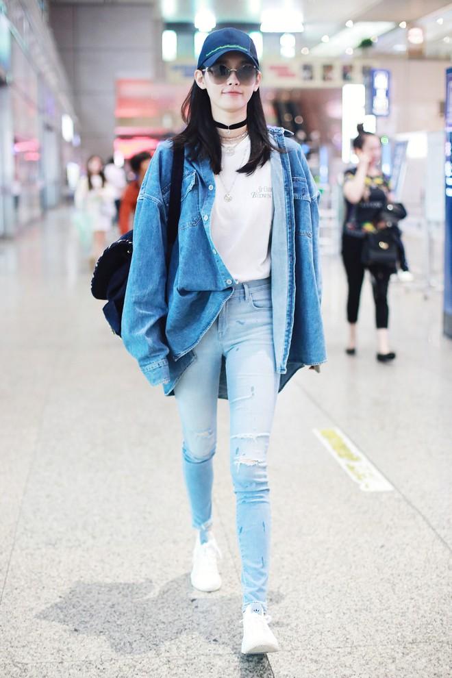 Cứ sang thu là 5 mẫu áo khoác quen thuộc này lại được loạt người đẹp Hoa ngữ lăng xê nhiệt tình - Ảnh 8.