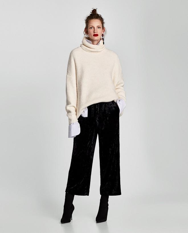 Gợi ý 15 mẫu quần dài từ Zara, Mango, H&M cứ mặc cùng boots là đẹp - Ảnh 8.