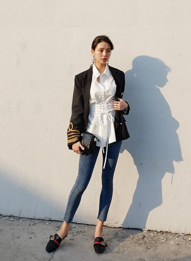 Áo liền corset – mẫu áo mới mà nàng nào mặc vào cũng eo thon tức thì - Ảnh 13.
