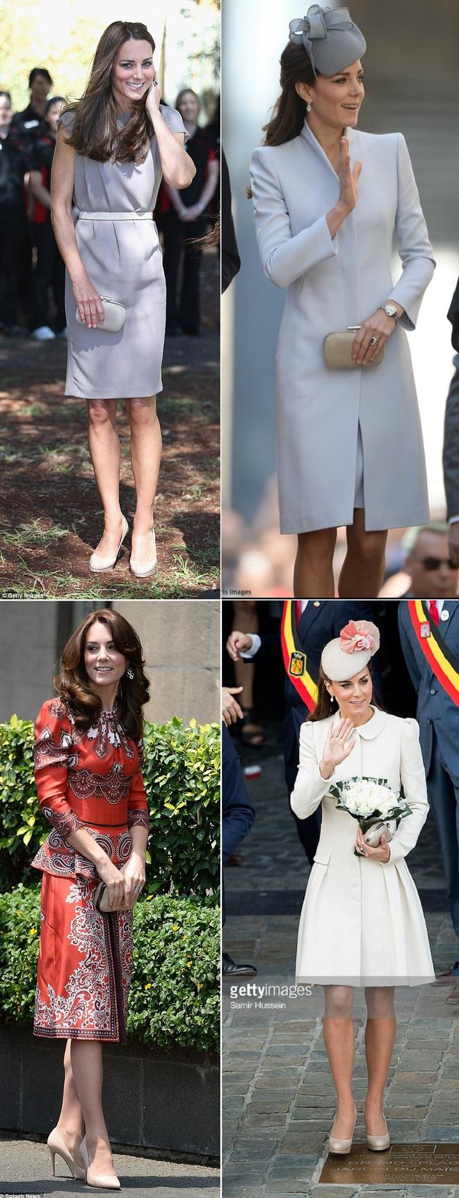 Suốt cả tháng 7, công nương Kate chỉ chuộng diện lại túi cũ từ năm ngoái - Ảnh 8.