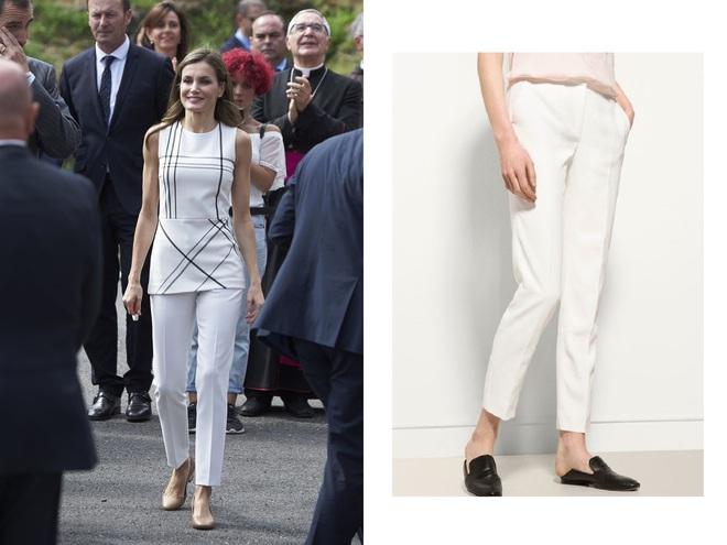 Giống công nương Kate, Nữ hoàng Tây Ban Nha chỉ chuộng những hãng đồ bình dân và chẳng ngại mặc đi mặc lại một mẫu - Ảnh 9.