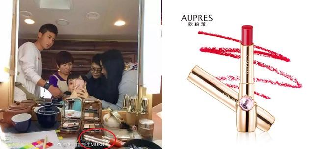 Tạo hình của Tôn Lệ trong phim mới: tóc giống như Iphone X, sử dụng son nội địa giá rẻ - Ảnh 9.