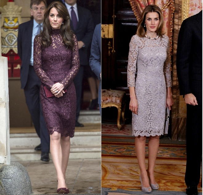 Mặc đẹp là thế, nhưng Công nương Kate cũng từng có vô số màn đụng độ khó phân cao thấp với 1 vị Hoàng hậu - Ảnh 9.