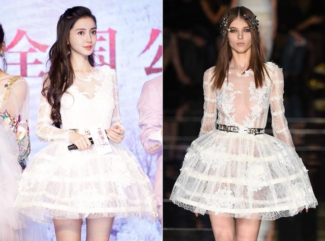 Dương Mịch, Phạm Băng Băng, Angela Baby… chính là những người đẹp rất hay chỉnh sửa váy áo hàng hiệu cho bớt sexy - Ảnh 10.
