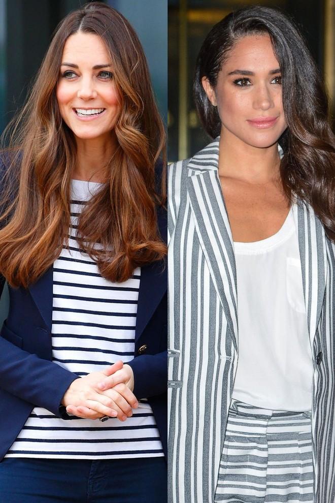 Có ai như chị em dâu nhà Hoàng gia Anh, Kate Middleton và Meghan Markle có tới 11 lần đụng váy - Ảnh 9.