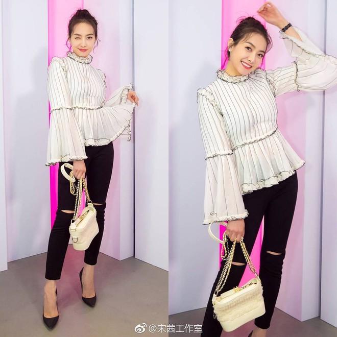Túi mới của Chanel: Chưa ra mắt được bao lâu đã làm mưa làm gió tủ đồ của loạt sao Hoa ngữ - Ảnh 11.