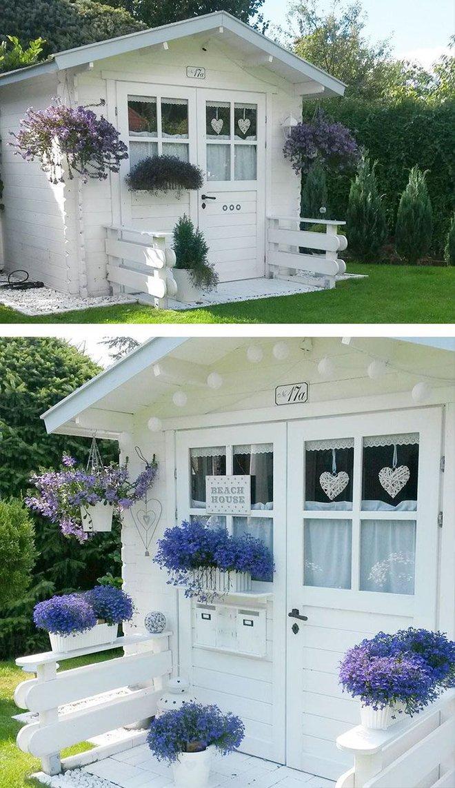 Những ngôi nhà nhỏ trong vườn khiến bạn như được lạc vào thế giới cổ tích - Ảnh 5.
