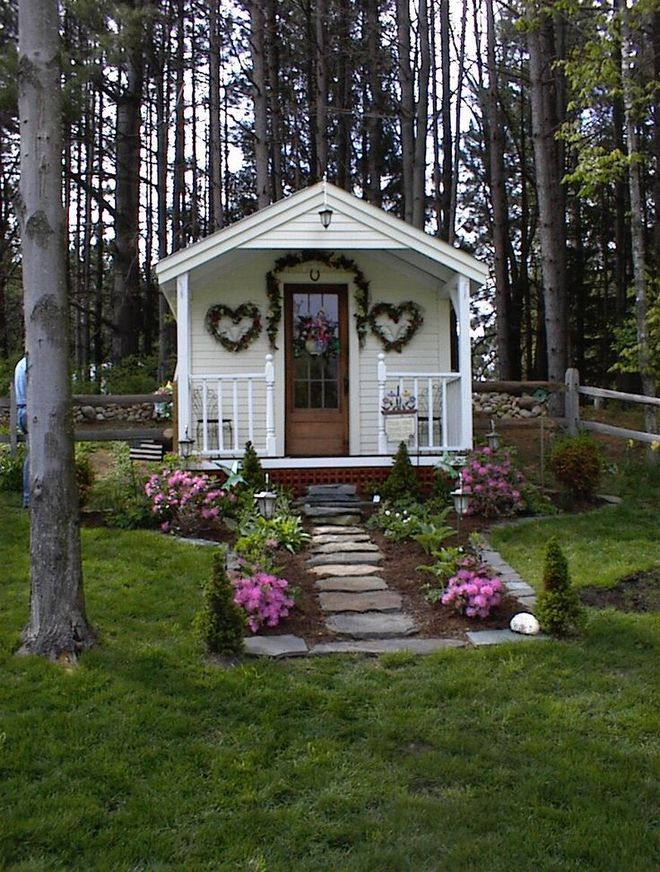 Những ngôi nhà nhỏ trong vườn khiến bạn như được lạc vào thế giới cổ tích - Ảnh 12.